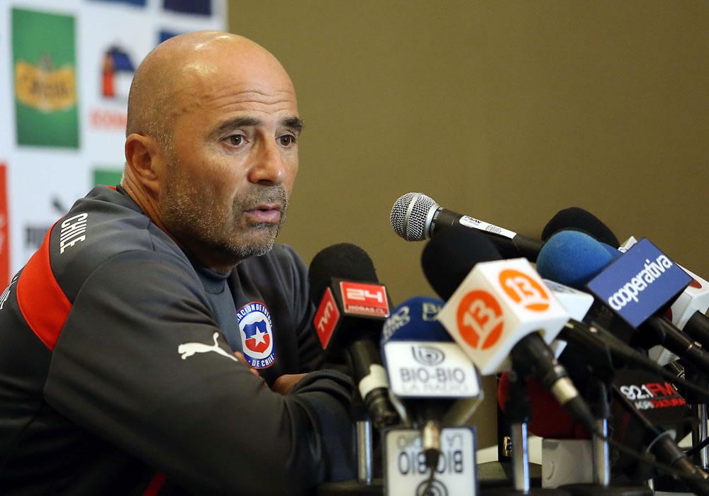 Jorge Sampaoli dice que sigue al Marsella de Marcelo Bielsa y elogia el juego de River. Foto: EFE