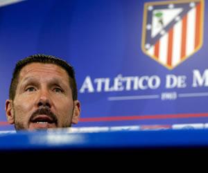 """Simeone: """"Deseo un estadio entregado con sus jugadores"""""""