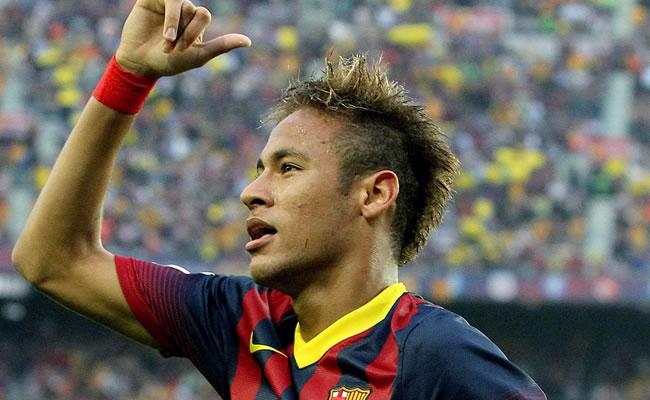El jugador brasileño Neymar. Foto: EFE