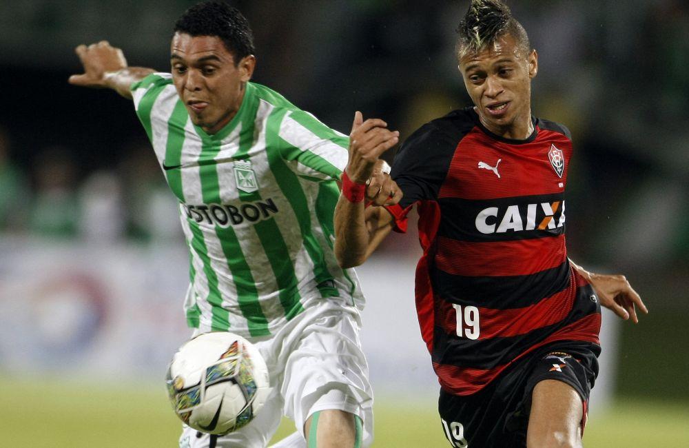 Nacional debe ganar o empatar por más de dos goles en Brasil para avanzar. Foto: EFE