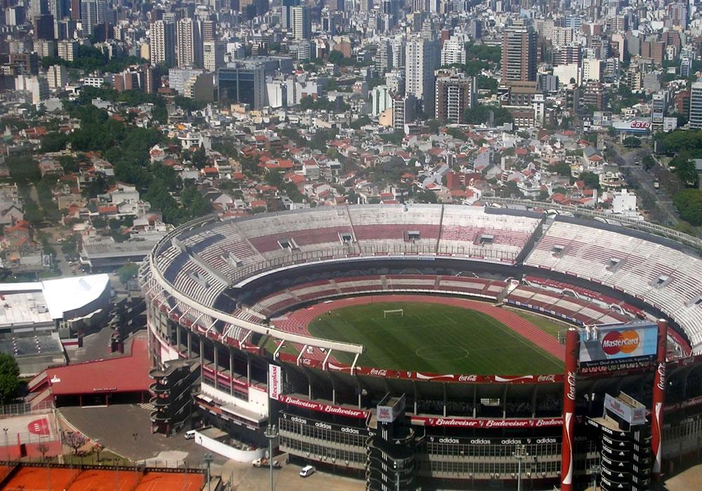 Estadio Munumental de Buenos Aires. Foto: EFE/Archivo