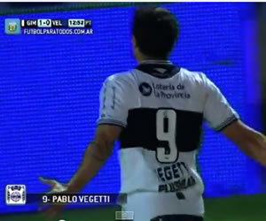 Gimnasia da duro golpe a Vélez en el comienzo de la jornada 10