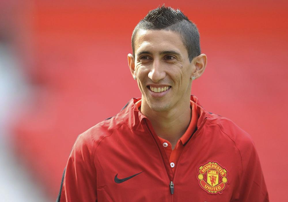 Di María, mejor jugador del Manchester United en septiembre