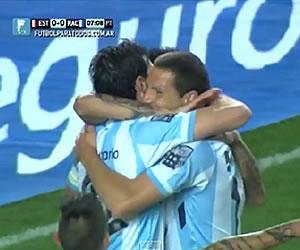 Racing Club goleó a Estudiantes en La Plata y vuelve a ilusionarse