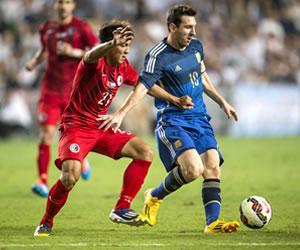 Argentina aplastó a Hong Kong con Messi como la figura