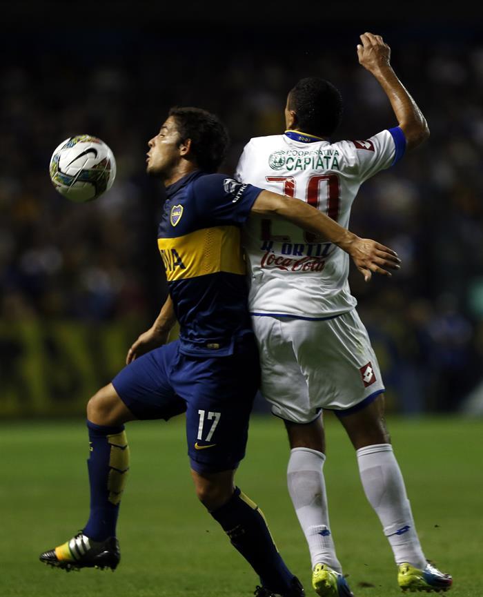 Boca perdió catastróficamente en La Bombonera ante el paraguayo Deportivo Capiatá. Foto: EFE