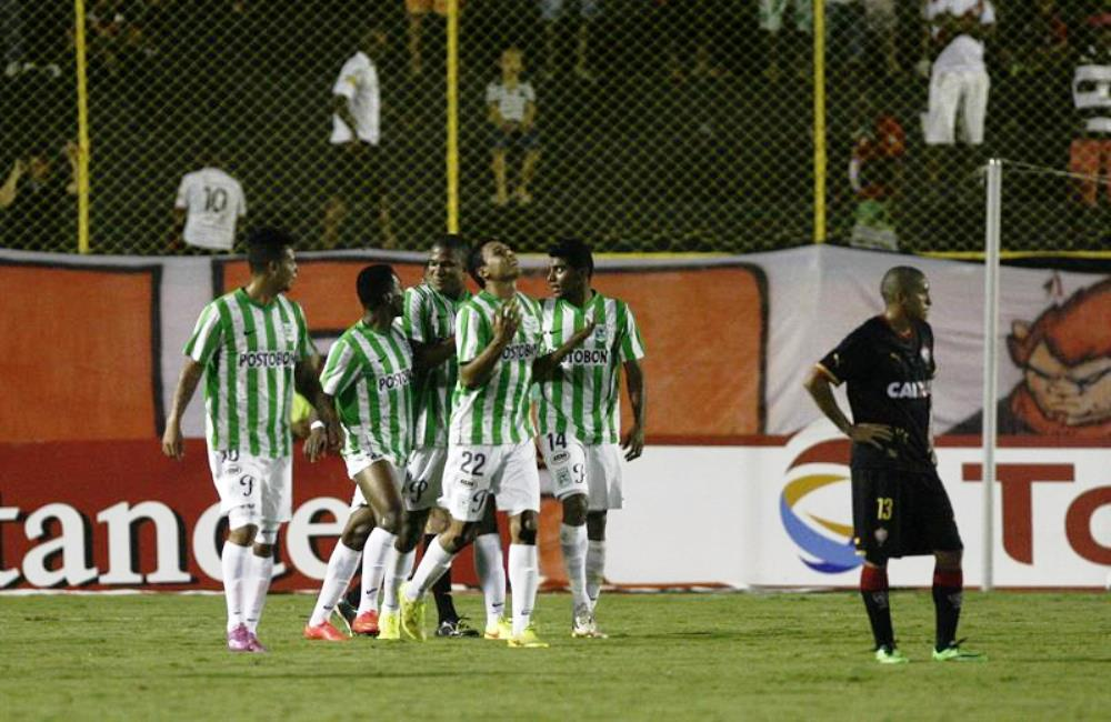 Nacional eliminó a Vitória y pasó a cuartos en la Sudamericana