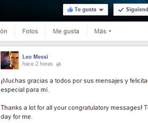 """Messi agradece """"estos diez maravillosos años"""" en el Barça"""