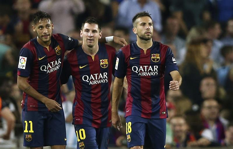 Barcelona gana ante el Eibar. EFE