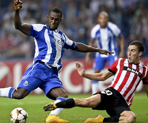 Con Jackson y Quintero, el Porto venció al Bilbao