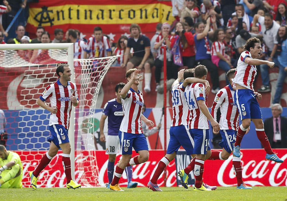 El Atlético de Simeone apunta al liderato con nuevo medio campo y Griezmann. Foto: EFE