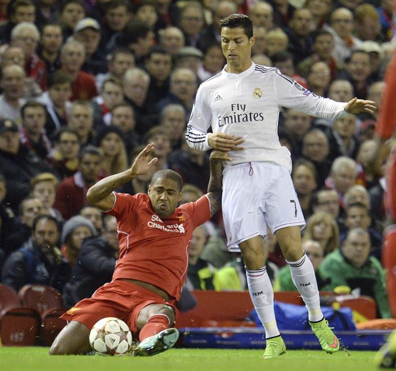 En imágenes el triunfo del Real Madrid ante el Liverpool en Anfield