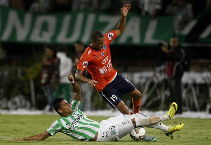 Nacional venció 1-0 a César Vallejo en la ida de los cuartos de la Copa Sudamericana. Foto: EFE.