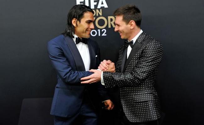 Falcao y Messi en el Top 20 de los deportistas mejor pagados del mundo. Foto: EFE