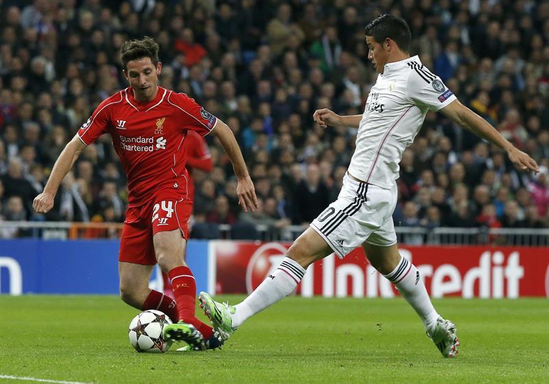 En imágenes el triunfo del Real Madrid ante el Liverpool en el Bernabéu