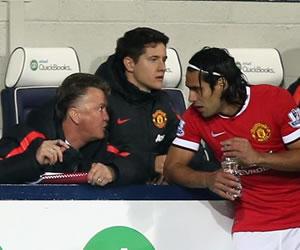 En duda la renovación de Falcao con el Manchester United