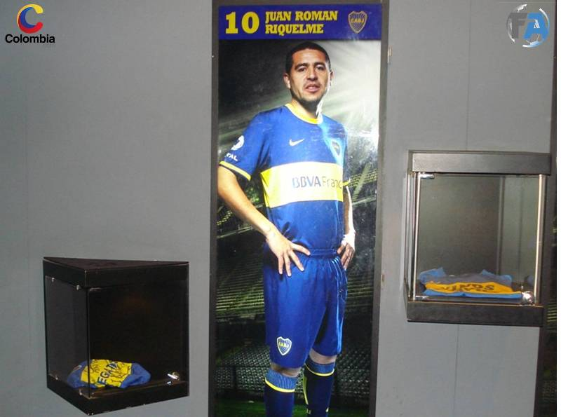 Espacio especial dedicado a Juan Román Riquelme. Foto: Colombia.com.