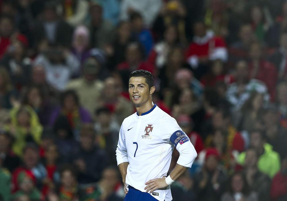 """Cristiano Ronaldo, sobre el amistoso ante la Argentina de Messi: """"No cuenta para nada"""". Foto: EFE"""