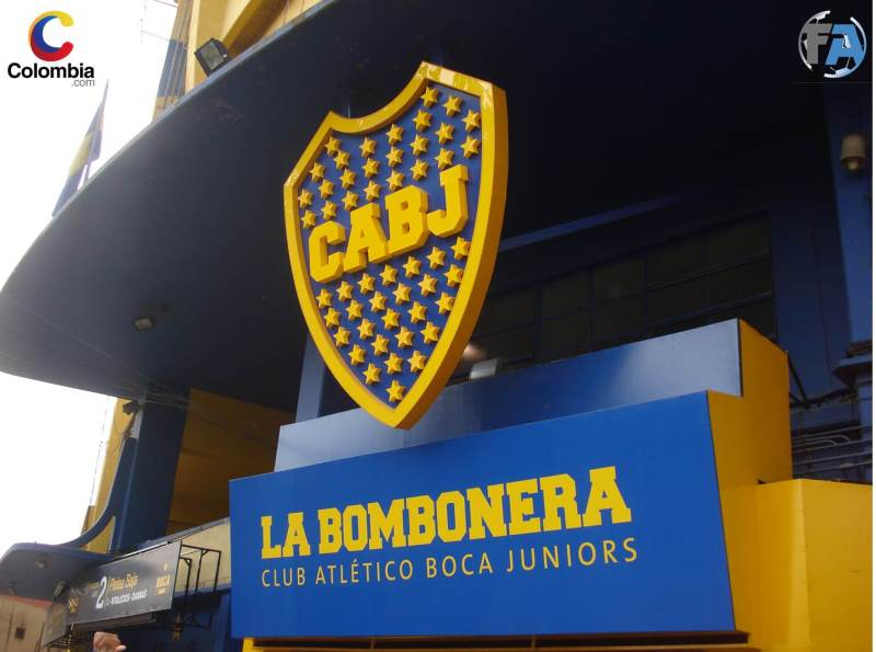 Fachada de La Bombonera. Foto: Interlatin
