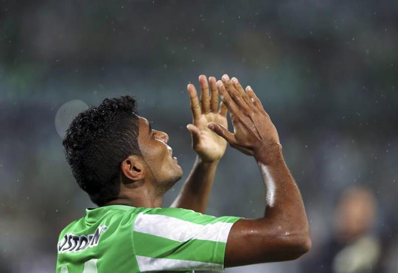Nacional le ganó 1-0 São Paulo de Brasil con gol de Luis Carlos Ruiz. Foto: EFE