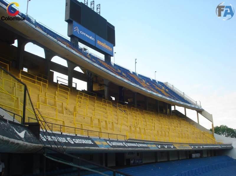 Sector de 'La 12', la barra más representativa de Boca. Foto: Interlatin
