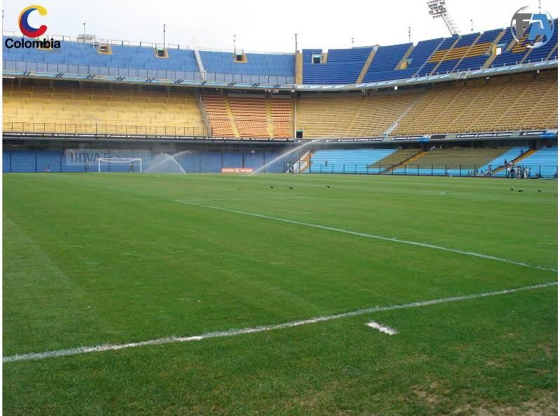 Así está el campo de juego a pocas horas del partido. Foto: Interlatin