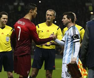 Portugal supera a Argentina en juego que terminó sin Messi y Cristiano