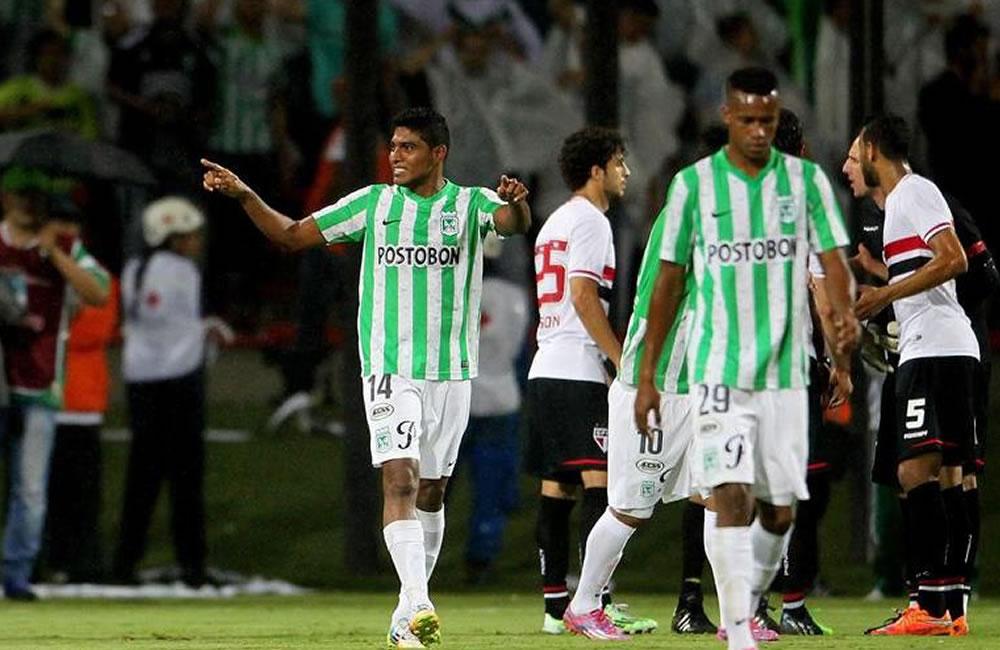 Nacional con toda su nómina, espera lograr en Sao Paulo el paso a la final. Foto: EFE