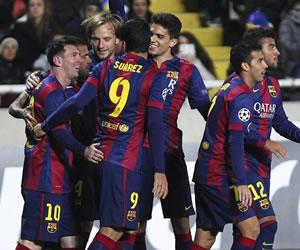 Triplete y récord en Europa para otra noche antológica de Messi