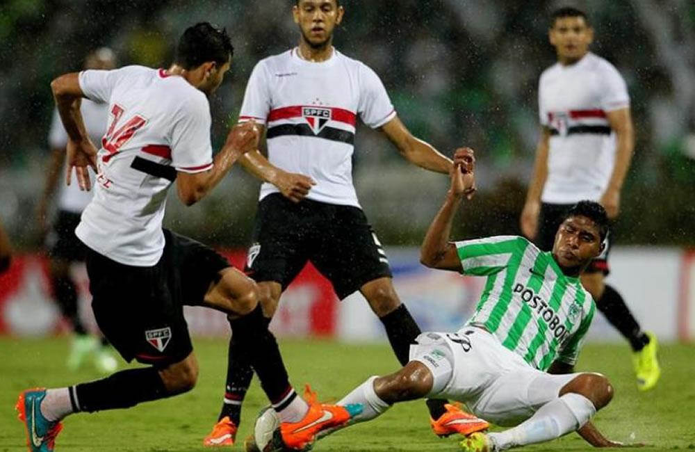 Sao Paulo busca la final tras clasificarse para la Libertadores. Foto: EFE