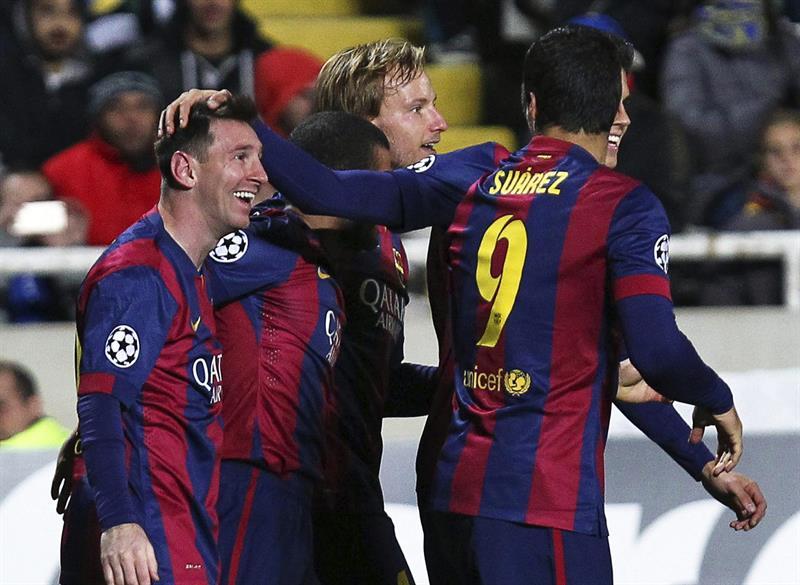 Las imágenes del nuevo récord de Leo Messi