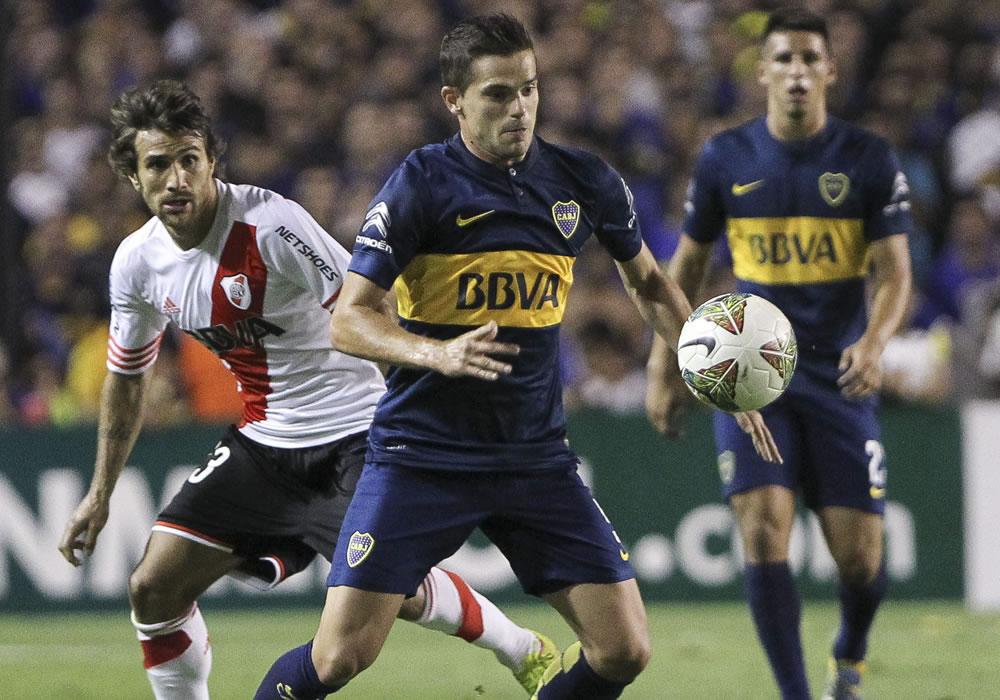 River y Boca definen su serie superclásica y el pasaje a la final de la Copa Sudamericana. Foto: EFE