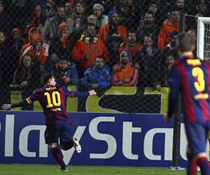 Messi supera a Raúl como máximo goleador europeo en la semana de los récords