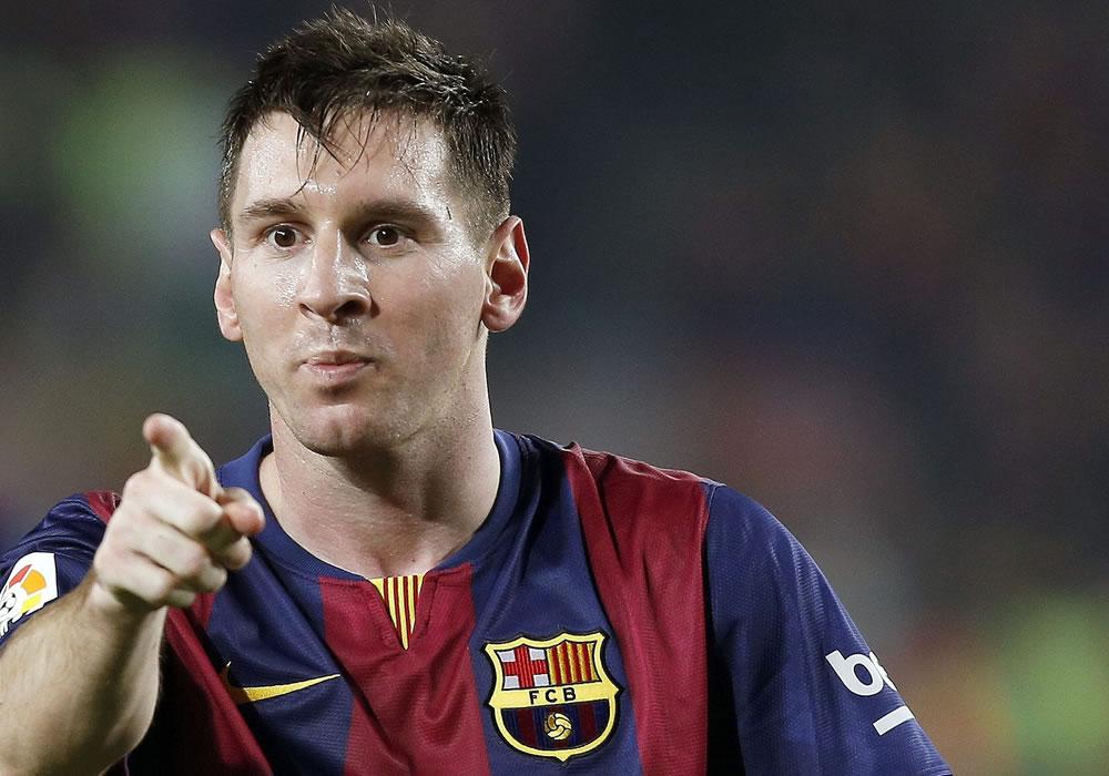 Leo Messi tiene en la mira otro récord de la UEFA. Foto: EFE