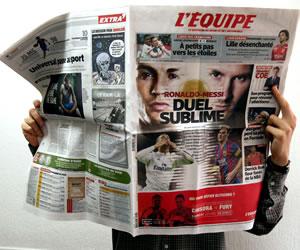 """""""L'Équipe"""" analiza el duelo de Ronaldo y Messi en """"la cima de su arte"""""""