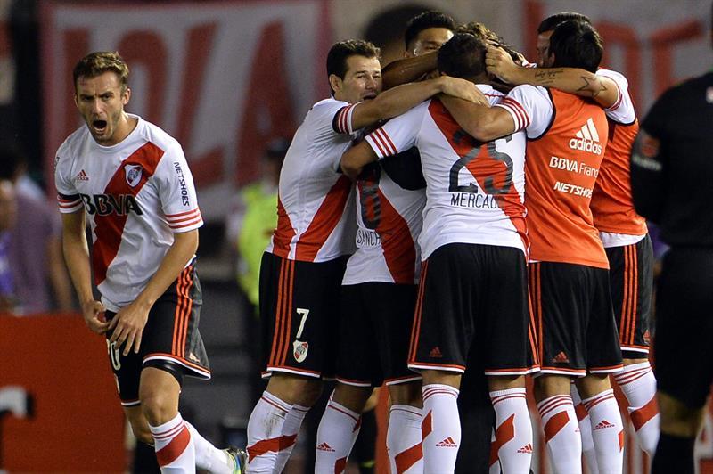River derrota a Boca y es finalista e la Copa Sudamericana. Foto: EFE