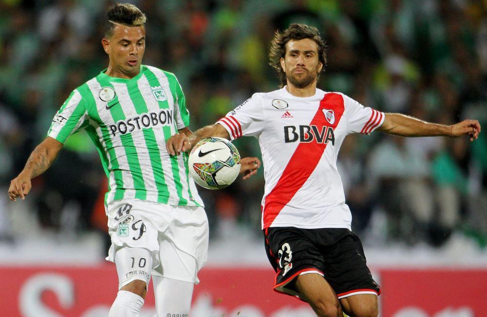 Nacional igualó a uno con River Plate en su propia casa. Foto: EFE