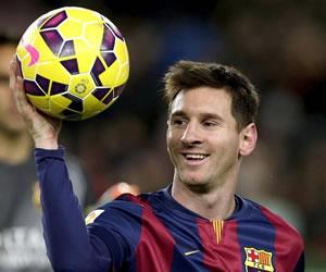 Otro triplete de Messi, que fue el seguro de vida del Barça