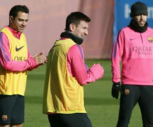 El Barça de Messi prepara el desafío contra el PSG tras golear al Espanyol
