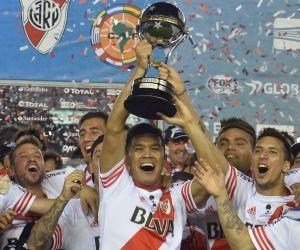 River, campeón de la Sudamericana tras vencer a Nacional