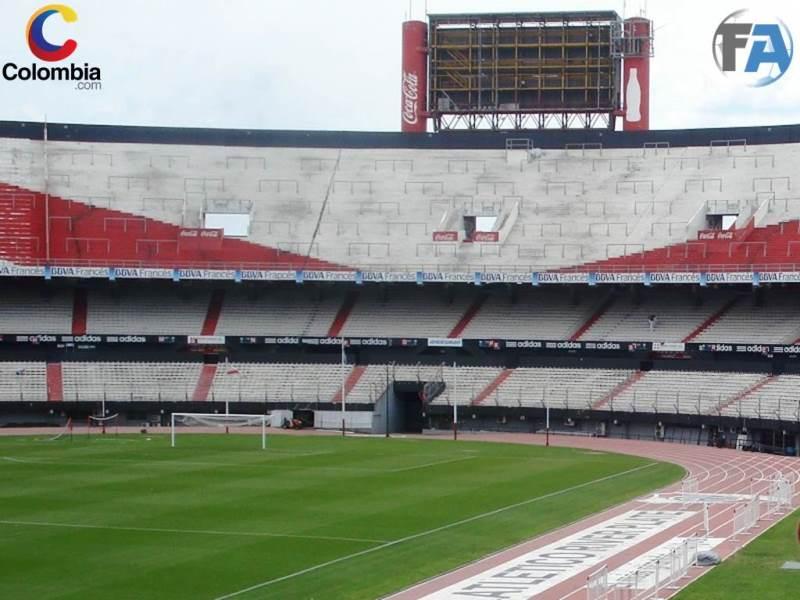 Estadio Monumental Alberto Vespucio Liberti de Buenos Aires, Argentina, casa de River Plate. Foto: Interlatin