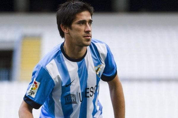 Pablo Pérez deja Málaga para ser el primer refuerzo del Boca Juniors. Foto. Foto: EFE