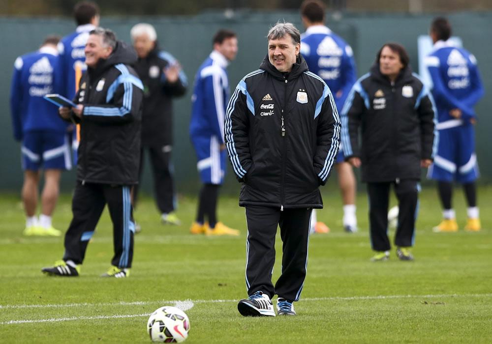 Gerardo 'Tata' Martino, DT de la selección de Argentina. Foto: EFE