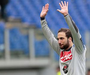 Los argentinos lideran la lista de goleadores de la Serie A italiana