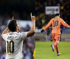 Messi y James entre los mejores organizadores de 2014 para la IFFHS