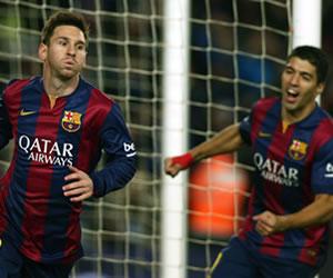 Triunfo del Barsa con gol de Messi sobre el Atlético de Simeone