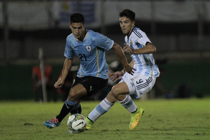 Argentina se consagró campeón Sudamericano Sub 20 y conquistó la clasificación directa a los Juegos Olímpicos Río de Janeiro 2016. EFE