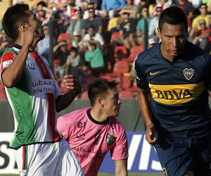 El triunfo en imágenes de Boca ante Palestino en Chile