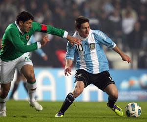 Argentina jugará amistoso con Bolivia