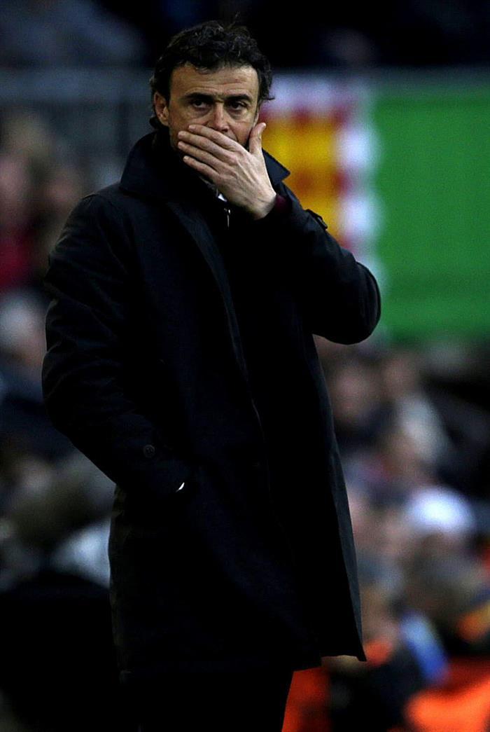 El entrenador del FC Barcelona, Luis Enrique. Foto: EFE
